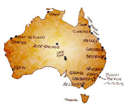 Free Map Of Australia To Print.Free Paper Toys From The Toymaker