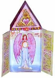 Retablo - A little angel box to share.