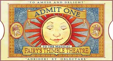 fairy's Thinble Theatre Ticket