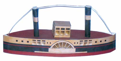 A Paddle Steamer