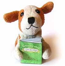 Perro con librito